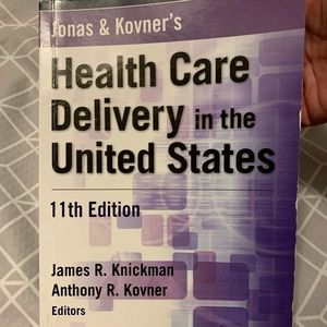 Like New, Health Care Delivery in the US